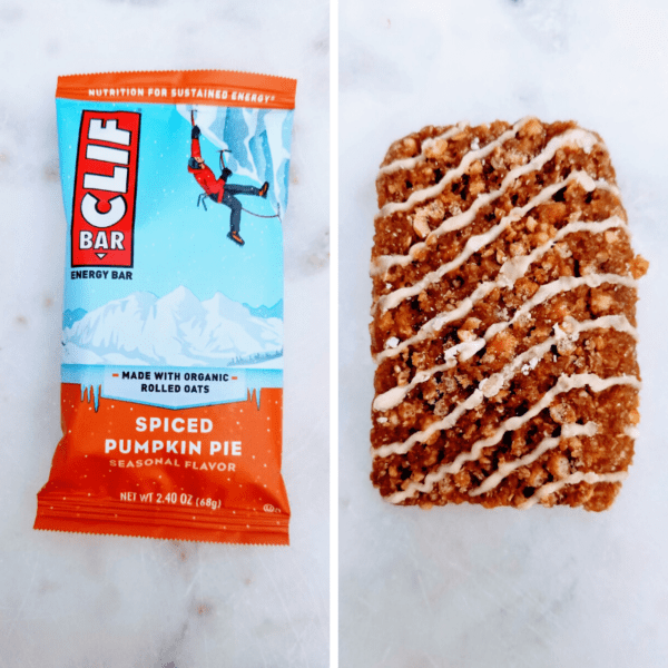 Spiced Pumpkin Pie Clif Bar Review