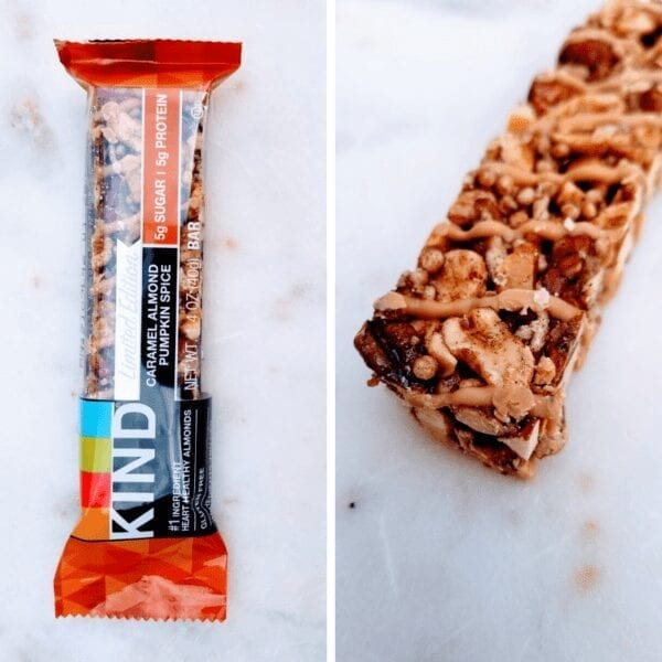 Kind Bar Caramel Apple Seasonal flavor review