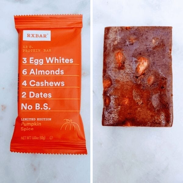 RX protein bar Pumpkin Spice Limited Edition Review