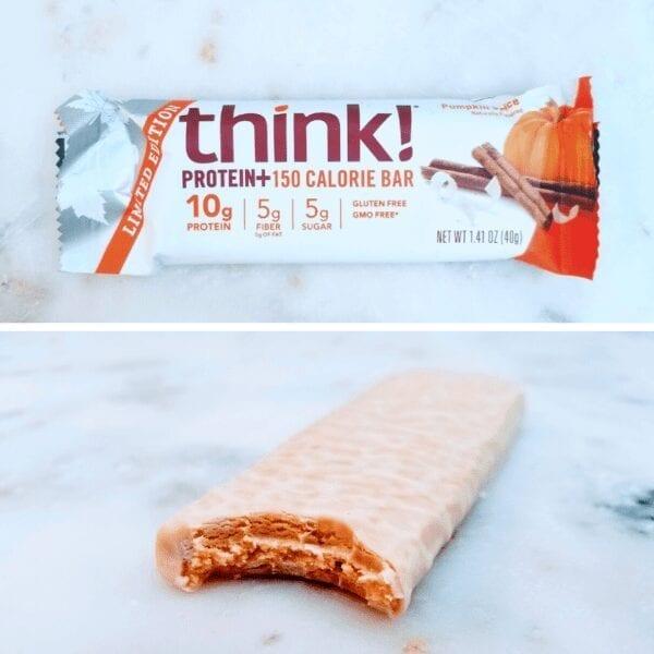 think thin protein bar Pumpkin Pie flavor review
