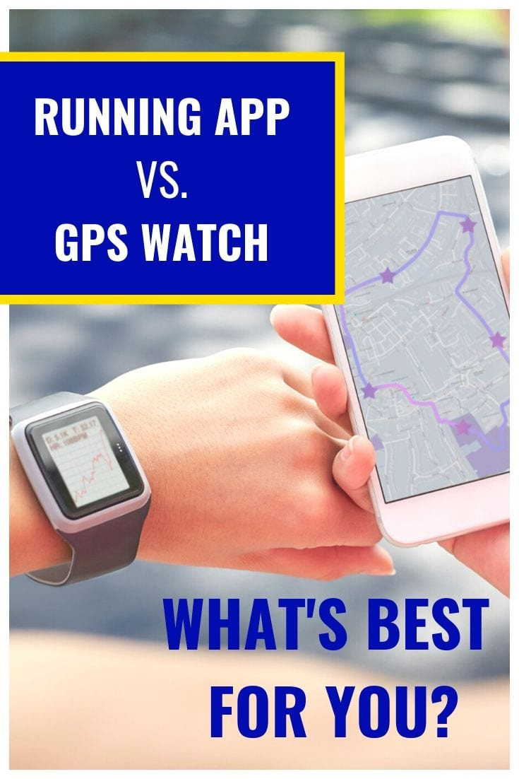 Should you use a Run Tracker App or Running Watch?