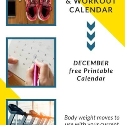 Workout Calendar for Runners with Exercises and Tips – December 2019