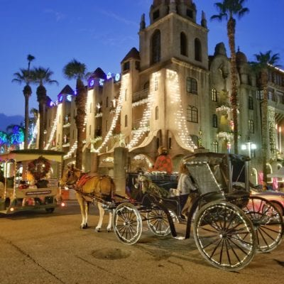 Mission Inn Festival of Lights in Riverside