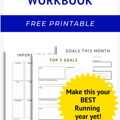 Goal Setting Workbook for Runners – free printable pdf