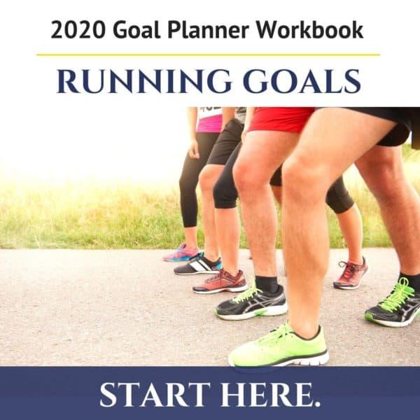 Goal Setting Workbook for Runners - free printable pdf 3