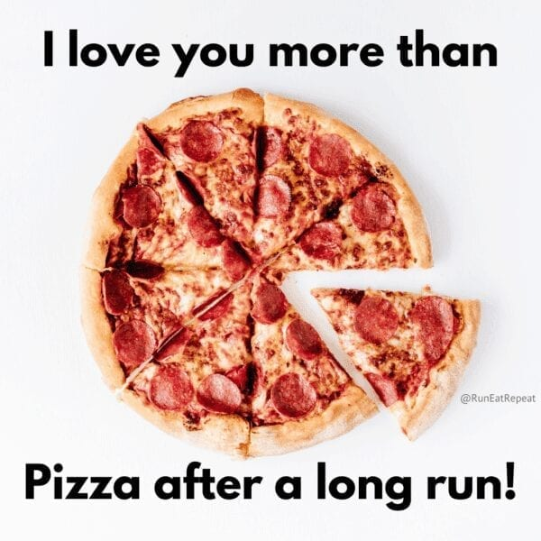 I love you more than pizza Valentines Day