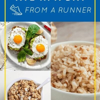 What I Eat In A Day – for Runners