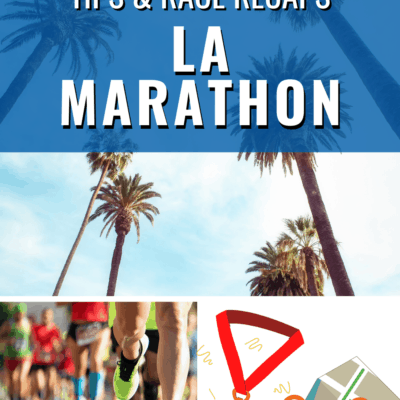 LA Marathon Run with Run to the Finish Book Tour