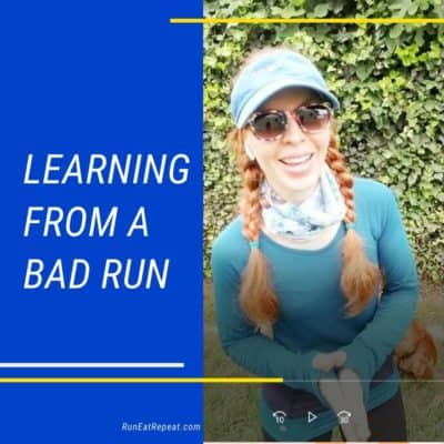 Key To Learn from the Bad Runs to Get Better and Run Faster