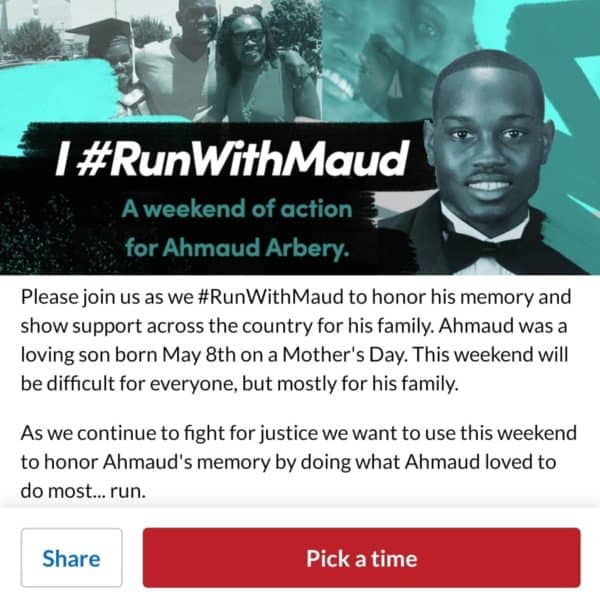 Amaud Arbery #IRunWithMaud - Run Eat Repeat 4