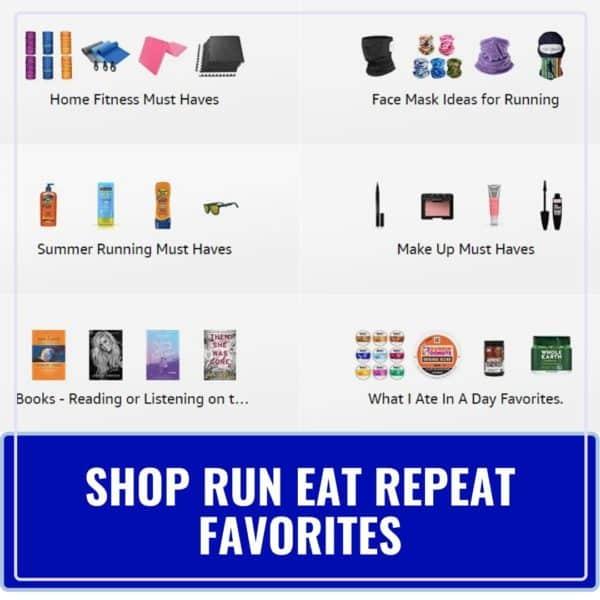 best running gear lists
