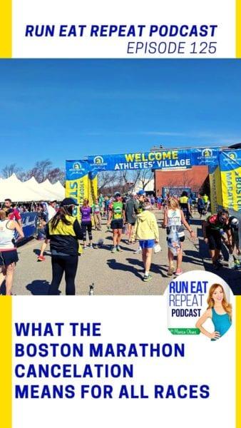 Boston Marathon 2020 cancelled podcast