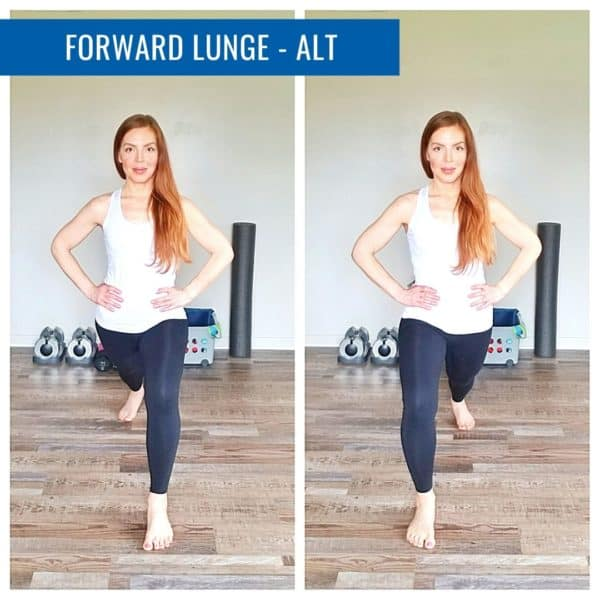 Forward Lunge Alt Runner