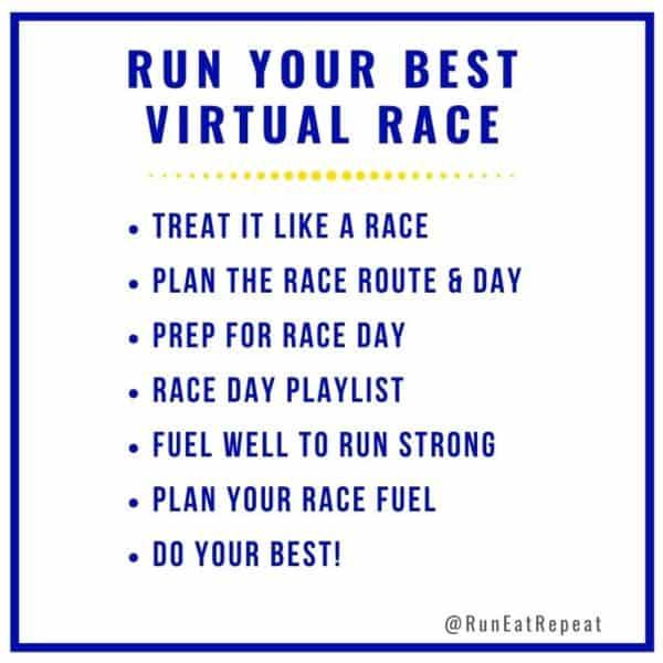 7 Secrets to Run Your BEST Virtual Race Part 2 - Podcast 124 6