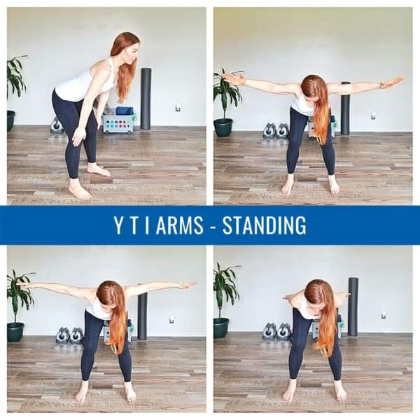 YTI Arms Standing