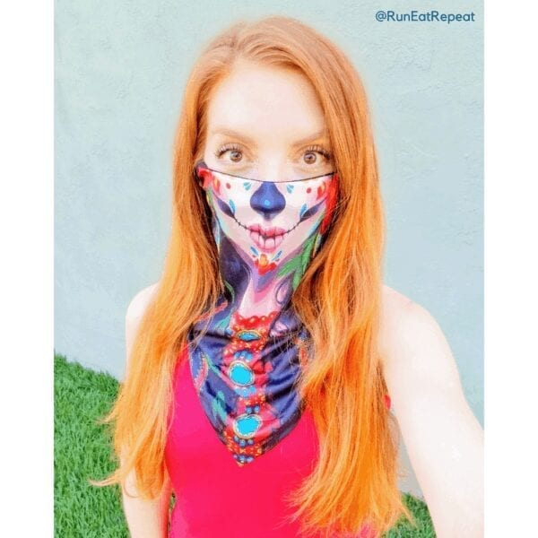 cute face mask redheaded Mexicans