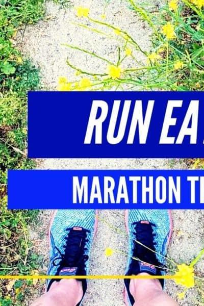 Marathon Training diary