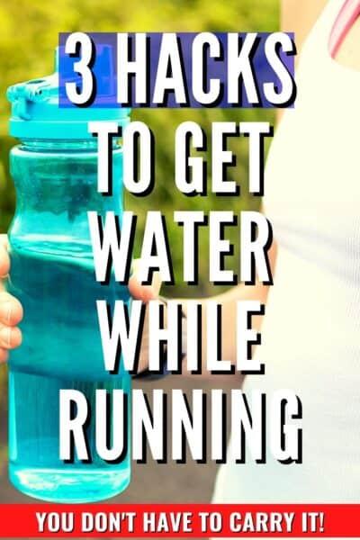 3 hacks for running water bottle