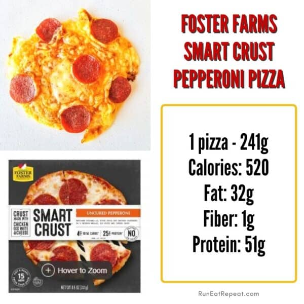 Foster Farms smart crust pizza review