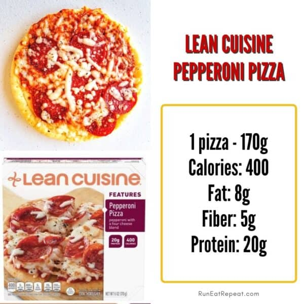 lean cuisine frozen pizza review