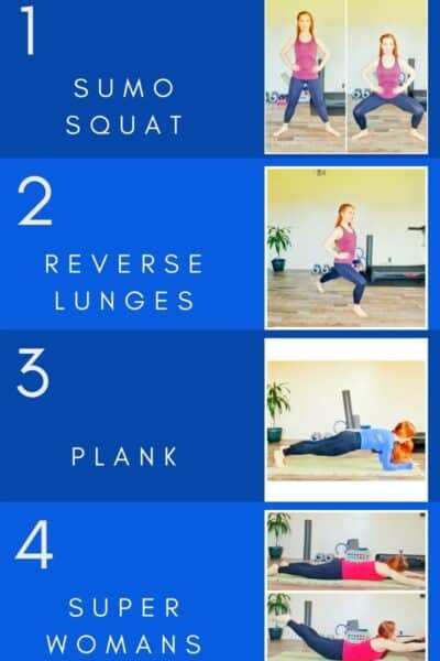 No equipment strength training workout for runners