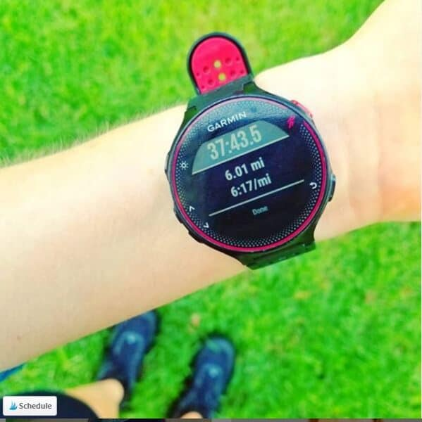 how fast I ran Garmin watch fail