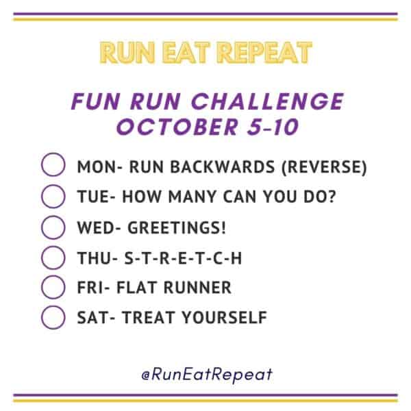 Fun Run Challenge Photo A Day for Runners
