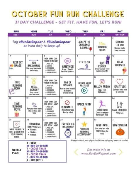 fun run challenge