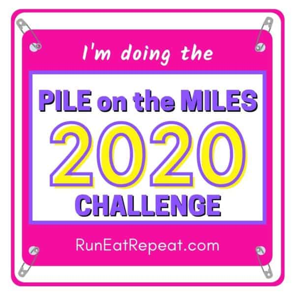 Pile on the Miles @RunEatRepeat - Neon Pink