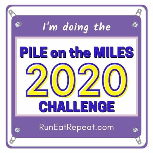 Pile on the Miles @RunEatRepeat - Purple
