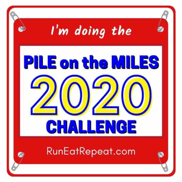 Pile on the Miles @RunEatRepeat - Red