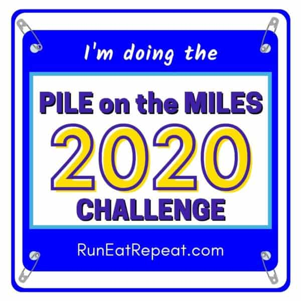 Pile on the Miles @RunEatRepeat - Blue