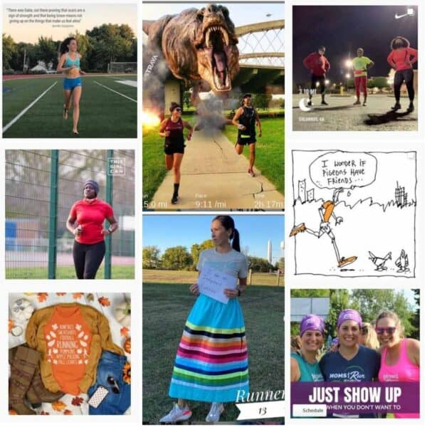 Running Instagram Accounts to follow in 2020