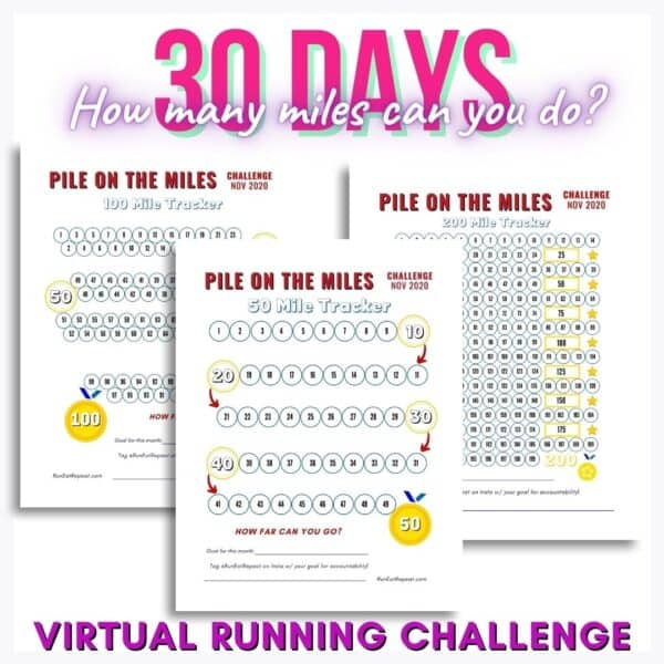 virtual running challenge free