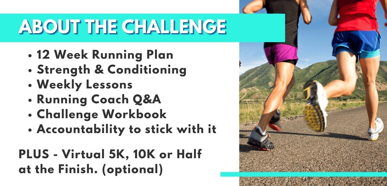 Running Challenge sign up 2021