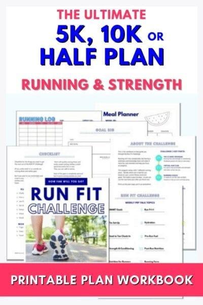 5K 10K Half Marathon Training Plan