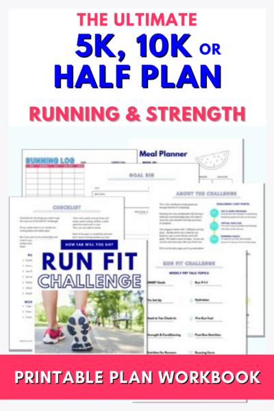 Plan de entrenamiento de media maratón de 5k 10k