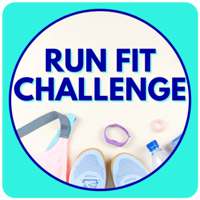 Run Fit Challenge home page