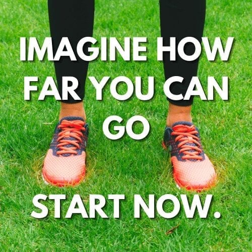 Best Running Program sign up page