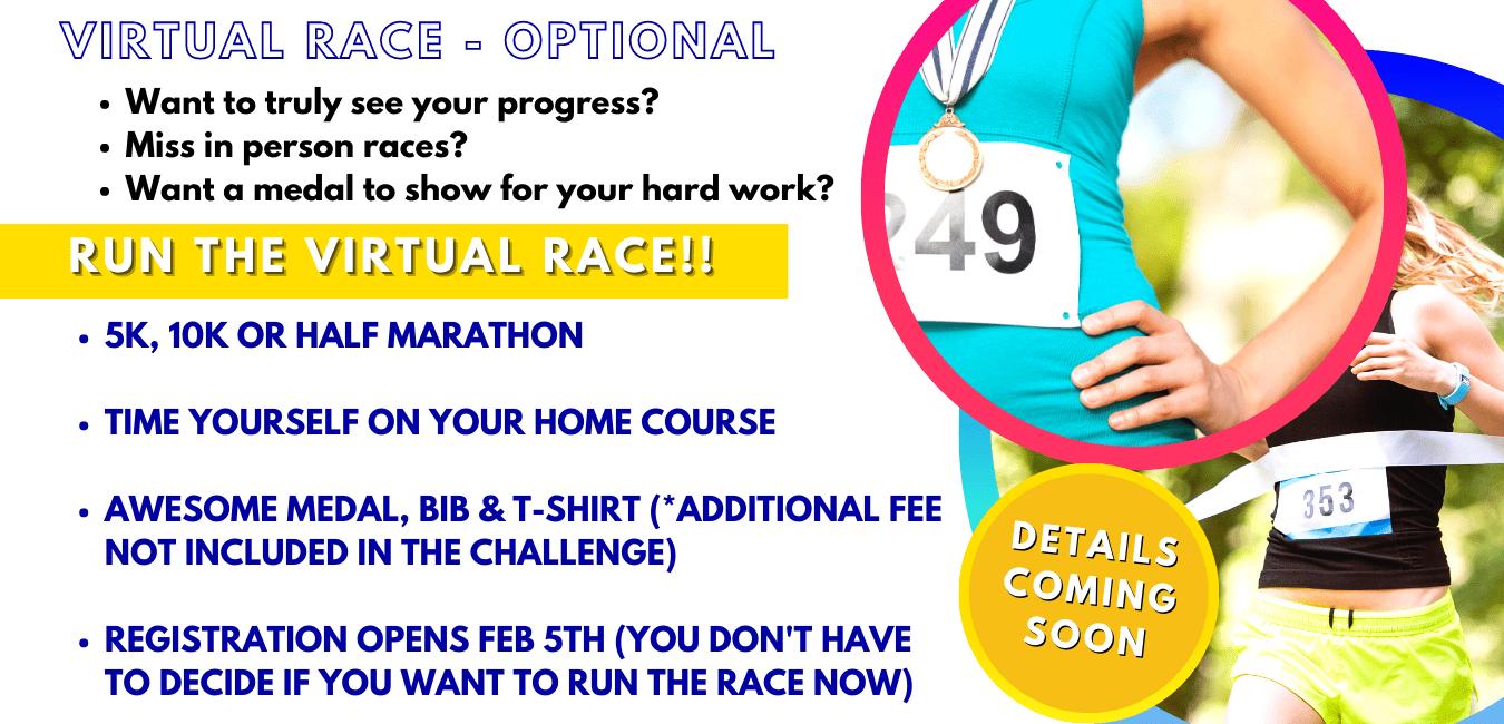Running Challenge Virtual Race Training Plan