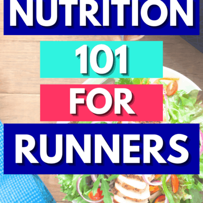 Nutrition for Runners – Run Fit Challenge Week 5