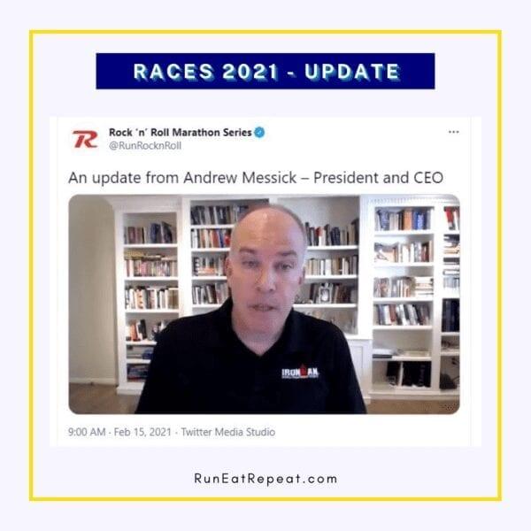 2021 Marathon Update Rock N Roll Race Director