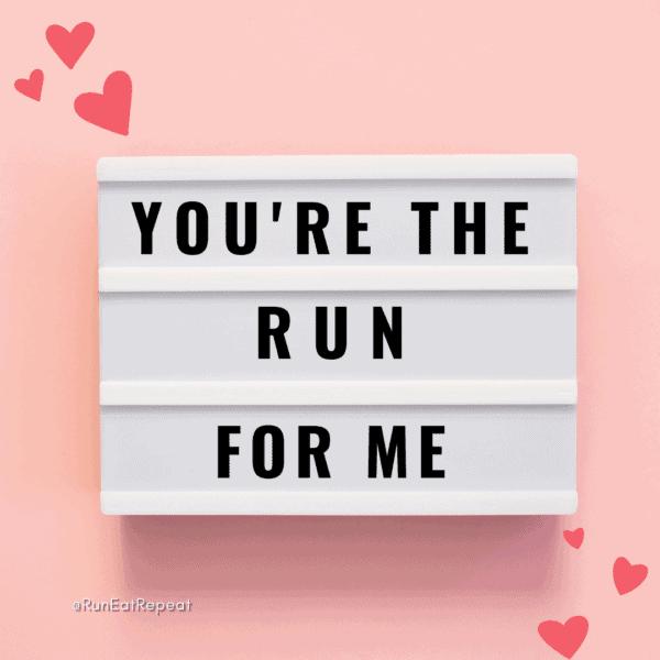 Runner Valentine's Day cards memes 2021
