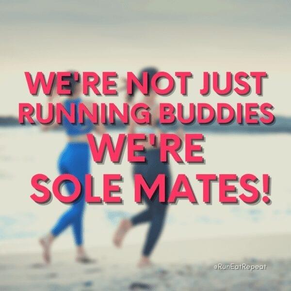 Funny Running Buddy Valentine's Day @RunEatRepeat Instagram