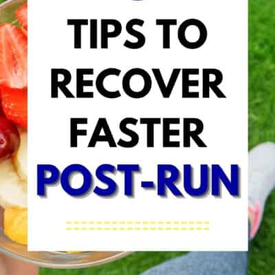 Best Tips to Recover Faster Post Run