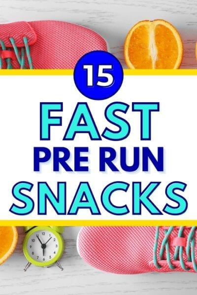 15 Fast Pre Run Snacks to Eat