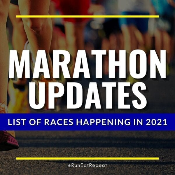 2021 Marathon List Races in person