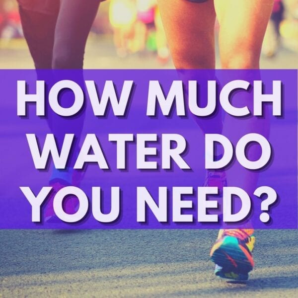how much water do you need to drink Runner Tips