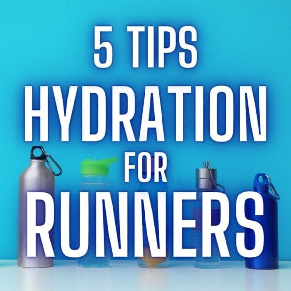 5 consejos de hidratación para corredores