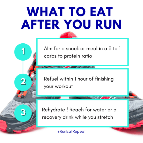 3 Tips What You Should Eat After Running